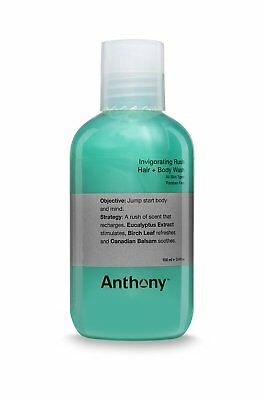 Invigorating Rush Hair & Body Wash, Anthony, 3.4 oz