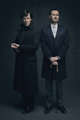 "026 Sherlock so4 - BBC Detective Season 4 Hot TV Show 14""x21"" Poster"