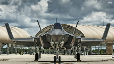 "010 F-35 - Lightning II Joint Strike Fighter 24""x14"" Poster"