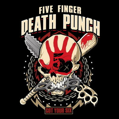 "007 FIVE FINGER DEATH PUNCH - Ivan Moody Metal Rock Band 14""x14"" Poster"