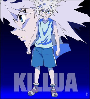"126 Hunter X Hunter - Neferpitou Gon Killua Fight Anime 14""x15"" Poster"