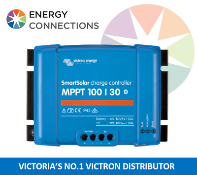 Victron SmartSolar MPPT Charge Controller 100/30 12/24V BUILT IN BLUETOOTH