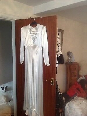 1930's Vintage Wedding Dress, Mint Condition