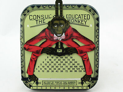Blechspielzeug - Affenkalkulator - The Educated Monkey CONSUL  1080777