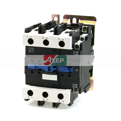 H● CJX2-12 Coil Volt 3 Phase One NO Motor Controller AC Contactor 660V 25A
