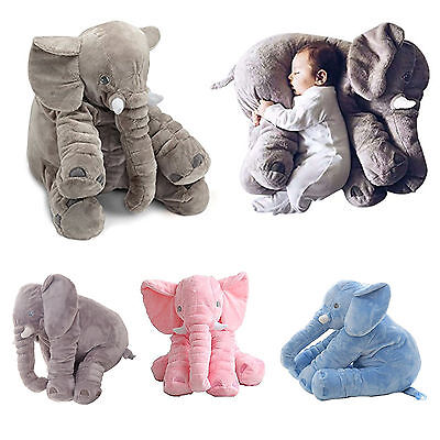 Baby Soft Plush Stuff Toys Elephant Children Pillow Long Nose Doll Showers gift