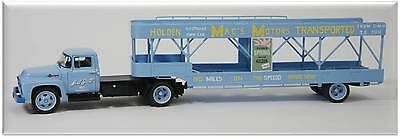 Armco 1/43 Scale Ford 1956 F600 Car Carrier. Suit- Spark Trax Minichamps Biante