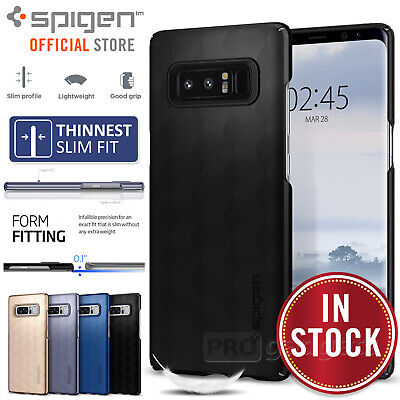 Galaxy Note 8 Case, Genuine SPIGEN Ultra Fit Slim Thin Hard Cover for Samsung