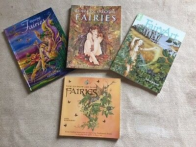Collection of Art / Drawing / Painting Books on Fairies / Fairy