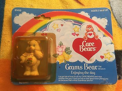 Care Bears Grams Bear Miniature Sealed  ( Kenner 1982 )  Rare
