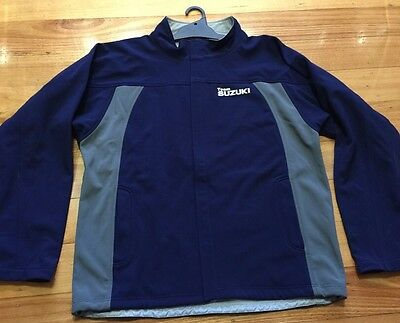 Suzuki Australia Motorbikes Motogp Mens Jacket Coat Sizes Large Rrp $129