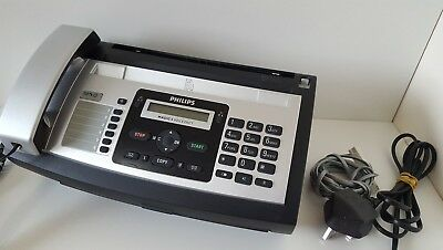 Philips Magic 5 Voice Detect Phone with Fax Machine PPF-685 Silver Used unboxed