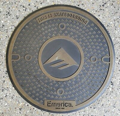 skateboard Emerica doormat