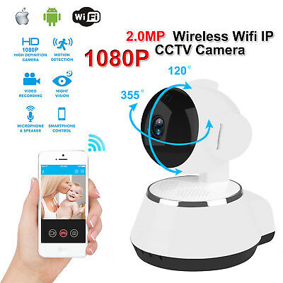 WIFI Wireless IP Camera Full HD 1080P Mobile iPhone Android Night Vision MLKG