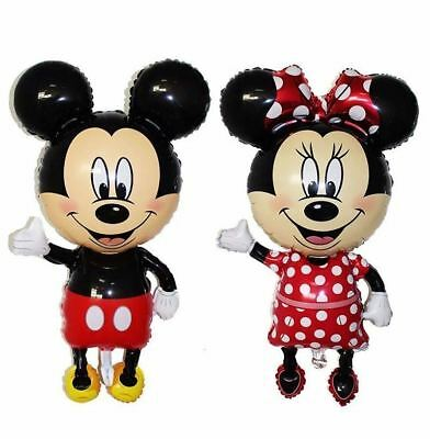 Big Size Minnie Mickey Air Balls Balloon Party Gift Hot Aluminum Foil Party Toy