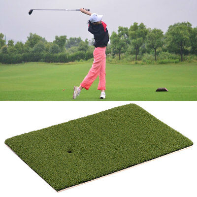 25x37cm Golf Launch Zone Hitting Golfing Mat Pad Rug Floor Indoor Equipment