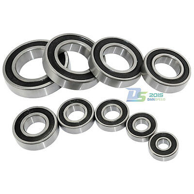 Bearings 6000 - 6008 RS 2RS Two Side Rubber Sealed Deep Groove Ball Bearing