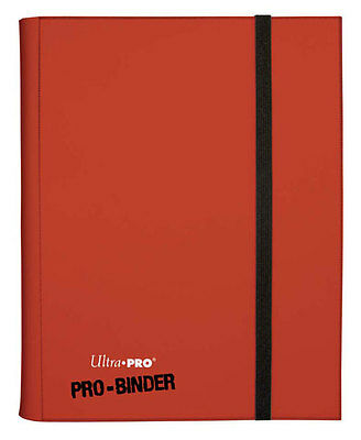 ULTRA PRO RED PRO BINDER ALBUM 9 18 POCKET 360 CARDS MTG Yugioh Pokemon