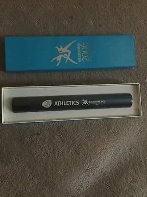 2006 Melbourne Commonwealth Games Athletics Baton Signed