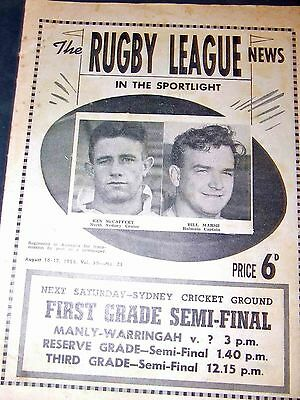 Rugby League News 1958 No.23