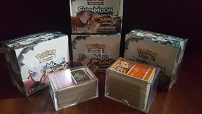 Sun and Moon Burning Shadows Bulk X 250+ Base Set Pokemon