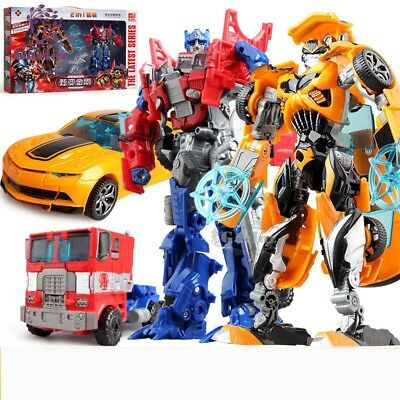 Kids Transformers Optimus Prime Bumble Bee Classic model Action Figure Funny Toy