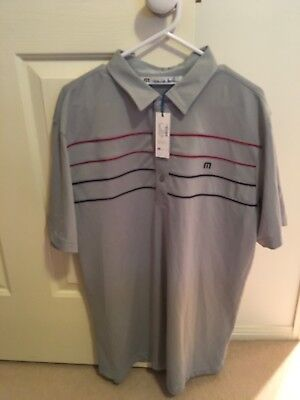 Golf Shirt. Travis Mathew. Brand New with Tags. Large Size.