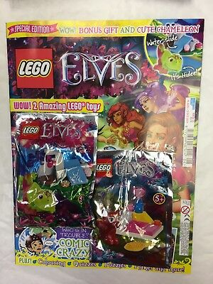 Lego Elves Magazine Special Edition Issue 6 August 2017 Free Lego Bonus Gift