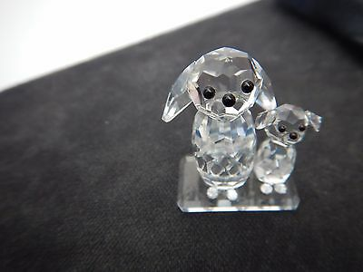 Toneva Crystal Ornament - Mother Dog plus Puppy. Very, Very Cute!! Pick Up OK