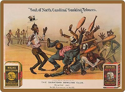 "1888 Seal Tobacco Black Americana NEW! Large 7 1/2"" x 10""  Refrigerator Magnet"