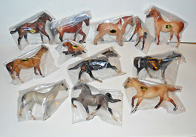 Vintage Breyer Stablemates 1998 Sears Holiday Set New in Box 12 Piece Set