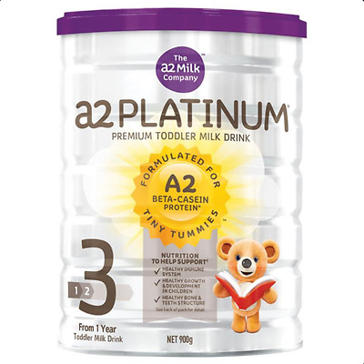A2 Platinum Premium Stage 3 Toddler Formula Milk 900g