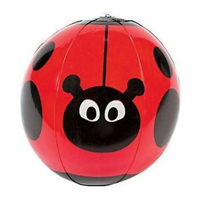 Inflatable Ladybird Ladybug Beach Ball - Kids Animal Insect Blow Up Party Toy