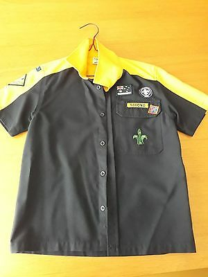 Cub Scouts Australia Button Up Shirt Size 10