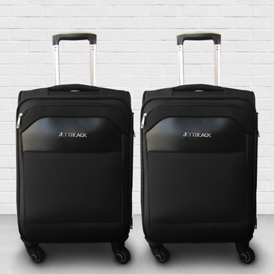 2X Luggage case Trolley Travel Carry On Bag Hard Case Lightweight