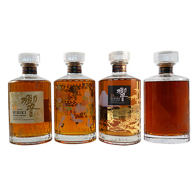 Hibiki Limited Edition Kacho Fugestu Collection Japanese Whisky