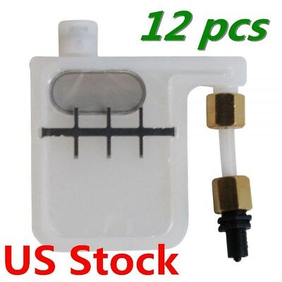 Big Damper with Resized Adapter for Epson DX3 / DX4 / DX5 Head *12pcs US Stock