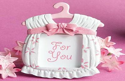 Bulk Pink baby shower photo frames 10 packs