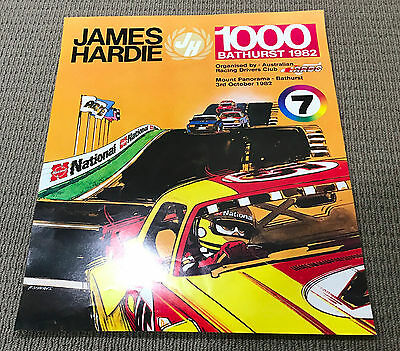 1982 James Hardie 1000 Bathurst Original Poster