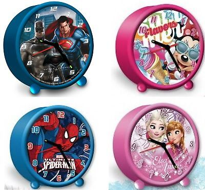 Wecker Batman vs. Superman, Disney frozen Anna und Elsa, Micky Maus Mini Maus