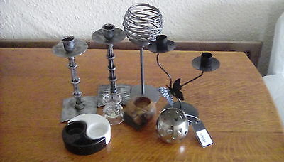 8 Candlesticks/candle-holders