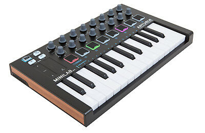 Arturia Mini Lab MK2 Controller (Black)