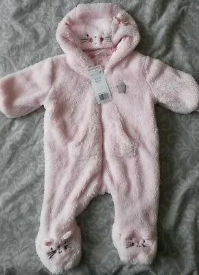 Baby girl all in one suit 0-3m NEW WITH TAGS