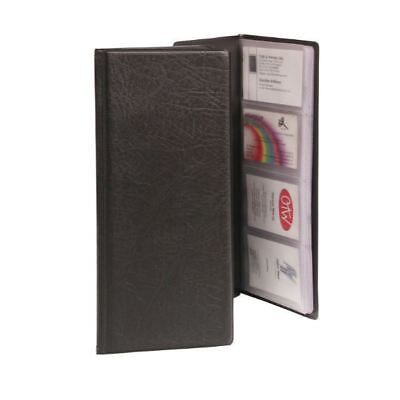 Goldline Business Card Holder Classic Black Capacity 128 CBC4P [GH06010]