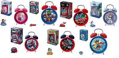 Wecker Star Wars, Disney Frozen, Cars, Paw Patrol, Marvel Avengers, Spiderman
