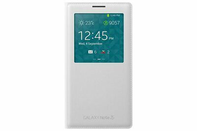 Samsung Galaxy Note 3 S-View cover originale EF-CN900 White - ORIGINALE