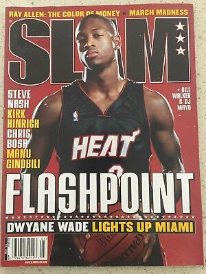 Slam Magazine May 2005 - Dwayne Wade Cover