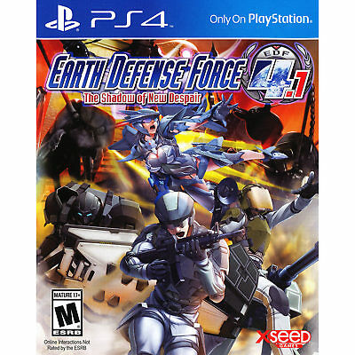 Earth Defense Force 4.1: The Shadow of New Despair PS4 [Factory Refurbished]