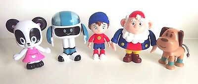 New Noddy Dreamworks Noddy And Friends Collectable Articulated Figures Set Of 5