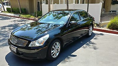 2009 Infiniti G37  Infiniti G37 Black 2009 low mileage